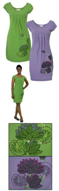 $29.95, organic cotton fair trade from www.thechildhealthsite.com.  Matching dresses for BG?