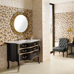 Honey Comb Tiles - Straight from the hive, you'll be robbing the bees with these sweet honeycomb wall tiles. The hexagonal textured honey cells are right on trend and will make your walls ooze with luxury.