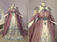 Firefly Path Rose Armor Gown as seen on Old Dress, Dress Up, Dress Prom, Beautiful Gowns, Beautiful Outfits, Beautiful Images, Pretty Outfits, Pretty Dresses, Fantasy Gowns