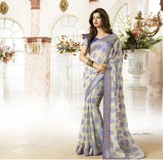 We are counted amongst the reckoned names in the industry, offering astonishing collection of Designer Sarees that is treasured for elegant looks and creative designs. Our entire product range is light in weight and is skin-friendly.The offered saree is precisely designed with the help of finest quality fabric and technically advanced machines in adherence to set industrial... Features: * Attractive looks * Precise designing * Soft texture