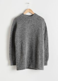 ac6ae4b5a5b Oversized Wool Blend Sweater  oversizedwardrobearmoire Kermit