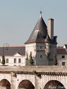 Tour Nord du Pont Henri IV, Châtellerault, Vienne ©Sylvie Charles