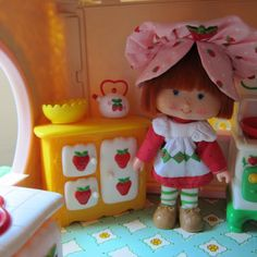 Ice Box Cabinet for Strawberry Shortcake Berry Happy Home