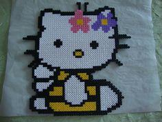 Hello Kitty abeille hama beads Bügelperlen by Cloe
