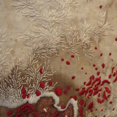 detail of Healing Sutra #14 by Erin Endicott at Wexler Gallery