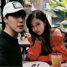from the story Bangtanpink aynı evde by parkrosie_young (Park Rosie Young) with reads. Mochi, Namjoon, Young Park, Wattpad Book Covers, Bts Girl, Kpop Couples, Ulzzang Couple, Blackpink And Bts, Tsundere