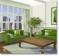 Monochromatic:  Green