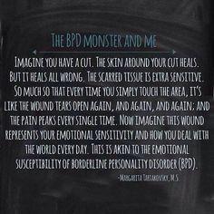 The BPD Monster and Me #BPD #Borderline Personality Disorder