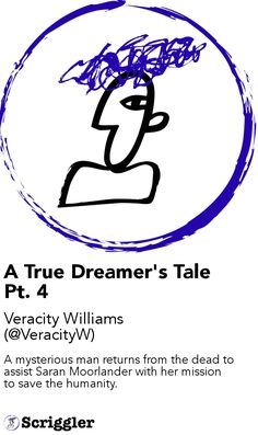 A True Dreamer's Tale Pt. 4 by Veracity Williams (@VeracityW) https://scriggler.com/detailPost/story/56480 A mysterious man returns from the dead to assist Saran Moorlander with her mission to save the humanity.