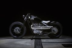 "Triumph TR6 Tiger by Sartorie Meccaniche | According to Silodrome, who featured the build, ""the completed bike is one of the most beautiful Triumph bobbers we've seen in recent memory…a well-built bobber can be an incredibly rewarding motorcycle to own and ride."""