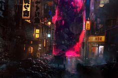 ArtStation - Doctor Strange / The Dark Dimension, Alexander Mandradjiev