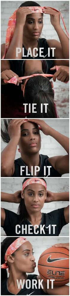 Get the Nike Dri-Fit Headband and work it just like Skylar Diggins! #HeadbandNation #Eastbay