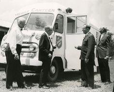 Historisches Foto einer Feldküche der Heilsarmee in Wichita, Kansas (USA)