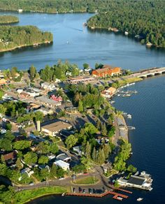 The Island City...A latte at Jorge's in Minocqua or viewing Minocquabats performance