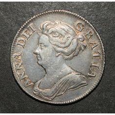 Old British Coins, Euro Coins, Queen Anne, Coins