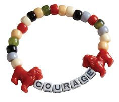 Daniel's Courage Bracelets (403-537) from Guildcraft Arts & Crafts! -- mayb in the bracelet put animals of ALL The stories we r going to b talking about..