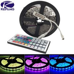10M 5M LED strip 5050 non waterproof Flexible Lights 60leds/m 5M/roll DC12V fita de led light RGB tape Ribbon +Remote Controller