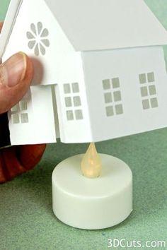 Tutorial - Tea Light Village Church — 3DCuts.com