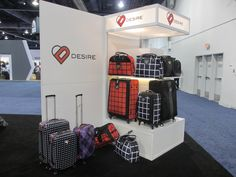 Desire luggage and suitcases by Signal Brands www.xibeo.com 805.604.4409