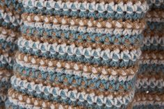 Ravelry: Dots & Dashes Crochet Throw pattern (free)