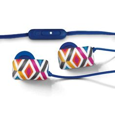 Jonathan Adler Earbuds with Volume Control | Lifeguard Press