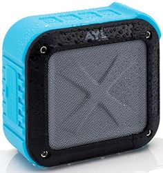 Portable Outdoor Shower Bluetooth Speaker by AYL Soundfit, Water Resistant, Wireless with 10 Hour Rechargeable Battery Life, Powerful Audio Driver, Pairs with All Bluetooth Devices (Ocean Blue) Cheap Speakers, Wireless Outdoor Speakers, Waterproof Bluetooth Speaker, Bluetooth Speakers, Bluetooth Gadgets, Tvs, Radios, Portable Outdoor Shower, Shower Speaker
