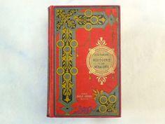 Vintage Wedding Guest Book Unique Journal Blank by Spellbinderie