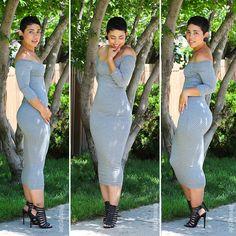 DIY Off The Shoulder Dress - Mimi G Style
