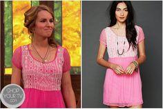 Shop Your Tv: Good Luck Charlie: Season 4 Episode 4 Teddy's Pink Aztec Top