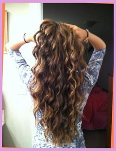 Stylish body wave perms for long hair With regard to Your hairdo ...