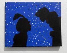Disney Aladdin canvas acrylic painting 8in x by stardustcreationz