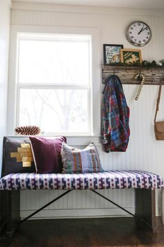 House Crashing: Textured & Southwestern | Young House Love - I love so much about this house's style!
