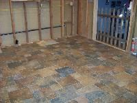 Style selections 12x12 in castle stone harvest glazed for 12x12 room square feet