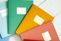 Paperways mini notebooks at Fox and Star #stationery