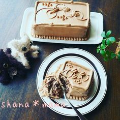 Tops風♪濃厚チョコレートケーキ♪