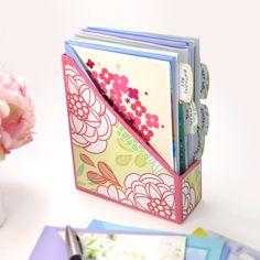 DIY Greeting Card Organizer