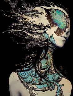 ☆ Echo -Detail- Artist Leslie Ann O'Dell ☆