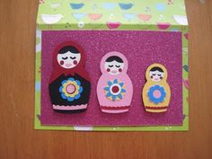 Nesting dolls from Paisley cartridge