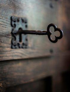 I've got the key I've got the secret - stock photo