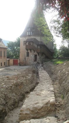 Sighisoara Castle, Romania, birthplace of the legendary Vlad Tepes (Vlad the Impaler)