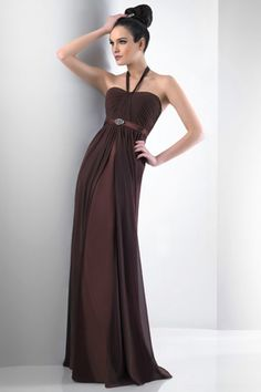 2012 New fashion drab column haltered sweetheart beads working sweep-length evening dress