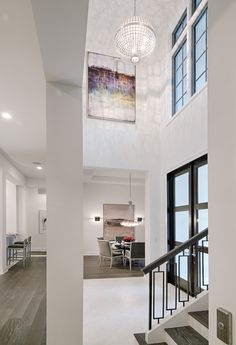 "Entry in Divco Custom Homes ""Antigua"" model in Miromar Lakes. Divco Homes | Naples, FL | Divcohomes.com"