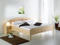 Betten Zirbe von der Schreinerei Loferer aus Holzkirchen bei München Bedroom Sets, Cot, Bed Design, Sofa Bed, Solid Wood, Toddler Bed, Relax, Woodworking, Furniture Ideas
