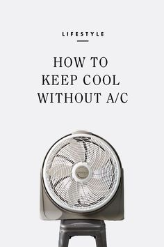 How to keep cool without AC  / eBay #spon