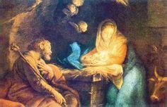 Resultado de imagen para pinturas al oleo de navidad