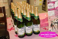 Everyone got to enjoy some Sparkling Grape Juice!