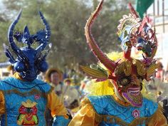 Fiesta de La Tirana Chile Bolivia, Oh The Places You'll Go, Wildlife, History, Albania, Travelling, Masks, Paradise, Random