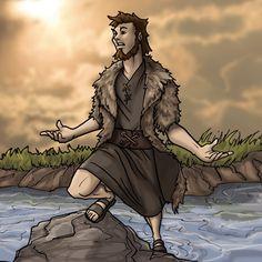 Sou fã e admiradora de artes e desenhos bíblicos e nas minhas andanças na net achei um artista fabuloso. Acho que é americano e responde pelo nick ou nome de EIKONIK. Estou postando aqui as suas ob…