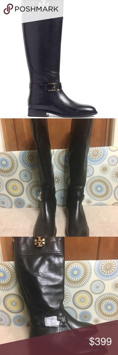 e758a7b8ad8 Tory Burch Adeline Boot These are brand new Tory Burch Adeline Boot. Style  - 41595 Size - 8.5 Color - Black MSRP  498 A gleaming logo medallion adds  ...