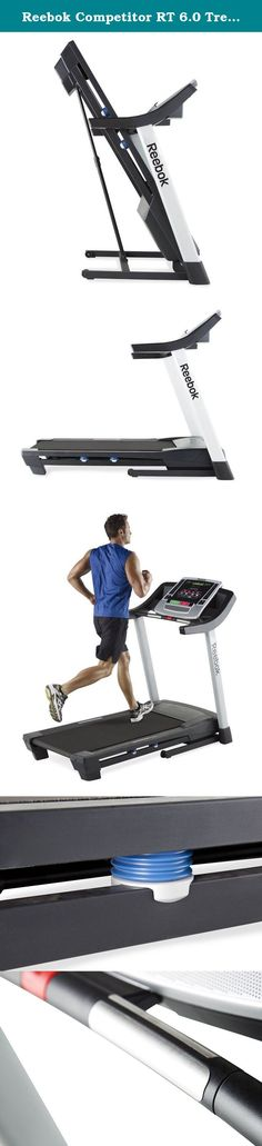 Reebok Competitor RT 6.0 Treadmill. Tone and condition your body with the Competitor RT 6.0 treadmill from Reebok. Featuring iFit Workout Card technology, this treadmill offers a progressive eight-week program that delivers real results. Sixteen workout apps and a custom weight-loss center offer personalized workouts for targeted training. Plus, QuickStep incline control instantly adjusts your workout intensity, offering more calorie burn and faster weight loss.